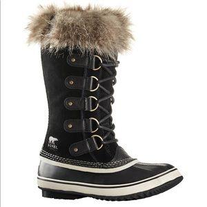 Sorel Joan of Arctic tall fur boots size 9